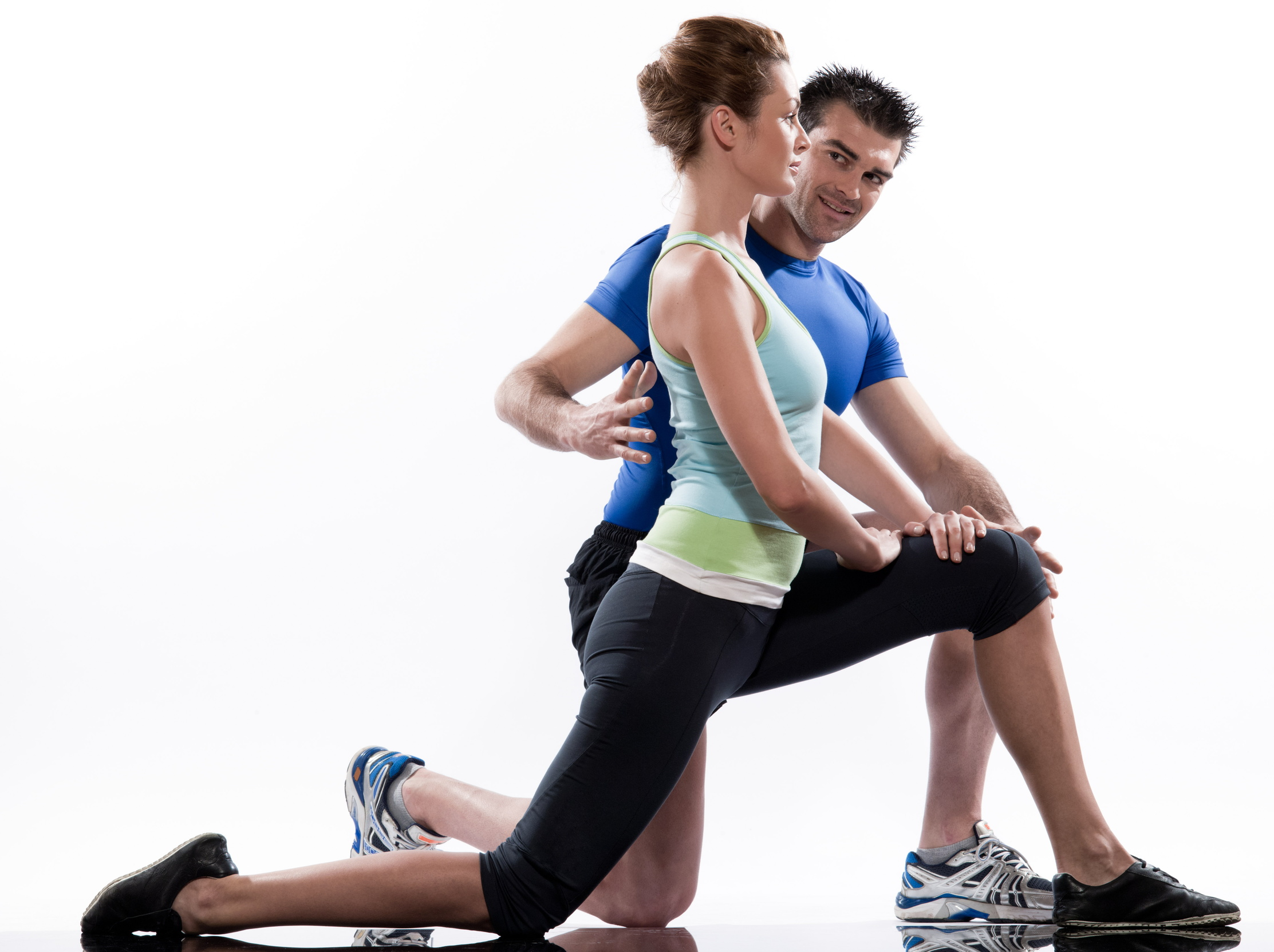 stretching workout posture